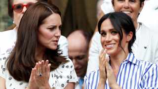 Duchess Kate with sister-in-law MeghanDuchess of Sussex. (Reuters)