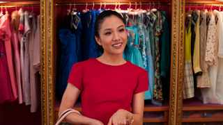 "This image released by Warner Bros. Entertainment shows Constance Wu in a scene from ""Crazy Rich Asians."" Picture: AP"