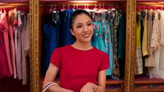 """This image released by Warner Bros. Entertainment shows Constance Wu in a scene from """"Crazy Rich Asians."""" Picture: AP"""