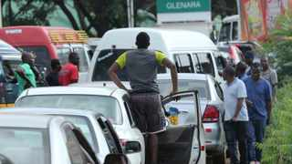 Motorists wait in a fuel queue in the capital Harare. Zimbabwe's president has more than doubled the price of gasoline, hoping the increase will end severe shortages that are fuelling public anger. Picture: Tsvangirayi Mukwazhi/AP