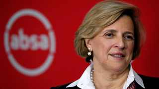 The Black Managament Forum (BMF) on Tuesday demanded that Absa Bank replace the outgoing chief executive Maria Ramos with a black executive. File photo: African News Agency (ANA)