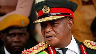 Zimbabwe's Vice President Constantino Chiwenga was one of the generals in charge of overthrowing Robert Mugabe. File picture: Siphiwe Sibeko/Reuters