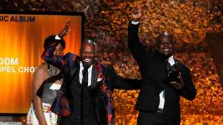 The Soweto Gospel Choir won the Best World Music Album Grammy for their album Freedom at the 61st Annual Grammy Awards ceremony on Sunday. Picture: Reuters