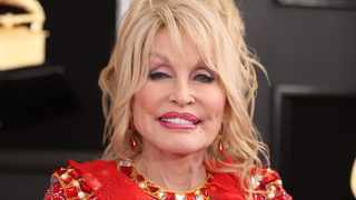 Dolly Parton attends 61st Grammy Awards. (Reuters)