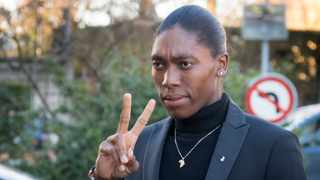 """Caster Semenya believes """"she and other women affected by the regulations should be permitted to compete in the female category without discrimination"""". Photo: Laurent Gillieron/Keystone via AP"""