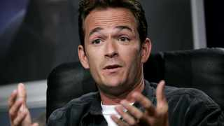 Luke Perry. Picture: Reuters
