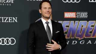 Chris Pratt at the world premiere of Avengers: Endgame in Los Angeles. Picture: Reuters