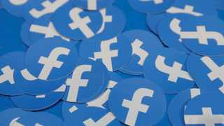 FILE PHOTO: Stickers bearing the Facebook logo are pictured at Facebook Inc's F8 developers conference in San Jose. Picture: Reuters