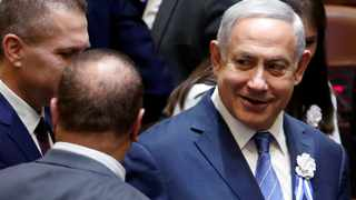 Israeli PM Benjamin Netanyahu arrives to attend an inauguration ceremony of Israel's 21st Knesset, or parliament, in Jerusalem April 30, 2019. Netanyahu is facing the possibility of having to fight a second election this year, as he struggles to form a coalition government. File photo: REUTERS/Ronen Zvulun.