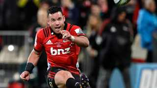 Ryan Crotty suffered a suspected broken thumb in the intense semi-final against the Hurricanes. Photo: Mark Baker/AP