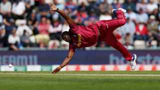Andre Russell took just three more wickets and posted a total of 36 runs in defeats to Australia, England and Bangladesh as he was clearly hobbled by the injury. Photo: Action Images via Reuters