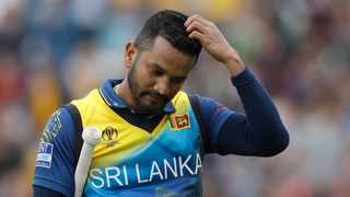 Sri Lanka captain Dimuth Karunaratne blamed poor domestic structure for the team's decline. Photo: Kirsty Wigglesworth/AP Photo