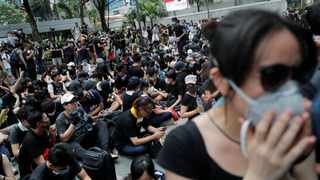 Demonstration demanding Hong Kong's leaders to step down and withdraw the extradition bill. Picture: Tyrone Siu/Reuters/African News Agency (ANA)