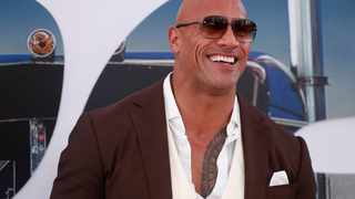 """Dwayne Johnson at the premiere for """"Fast & Furious Presents: Hobbs & Shaw"""" in Los Angeles, California. Picture: Reuters"""
