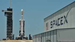 SpaceX's new Crew Dragon astronaut capsule will be ready for its first manned flight into orbit in the first quarter of next year. Photo: File