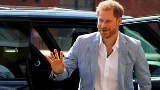 Britain's Prince Harry criticised for jetting in to climate change conference. Picture by Phil Noble for Reuters.