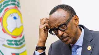 Rwanda's President Paul Kagame addresses a news conference in Kigali. File picture: Reuters/Jean Bizimana/File Photo