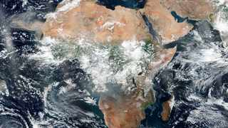 This August 26, 2019 satellite image provided by NASA shows the African continent. Picture: NASA via AP