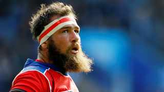 Namibia loose-forward PJ van Lill has received a Rugby World Cup reprieve. Photo: Darren Staples/Reuters