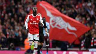 Arsenal boss Unai Emery is hoping to get the best out of Nicolas Pepe. Photo: Tony O'Brien/Reuters