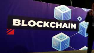 Blockchain has huge potential to benefit end-users and businesses. Photo: Reuters
