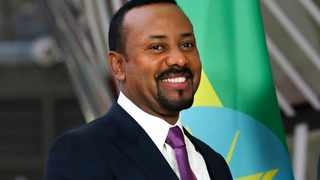 Ethiopian Prime Minister Abiy Ahmed at the European Council headquarters in Brussels.  Picture: Francisco Seco/AP