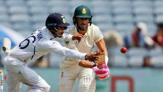 The Proteas are stuggling against India in the second test. Photo: Rajanish Kakade/AP Photo