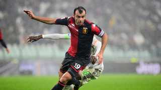 FILE - Genoa's Goran Pandev. Photo: Massimo Pinca/Reuters