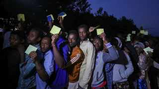 Voters wait in a queue to cast their vote during the Sidama autonomy referendum in Hawassa. Picture: Reuters/Tiksa Negeri