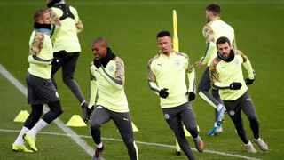 Gabriel Jesus is the club's only fit striker for tonight's Champions League clash with Shakhtar Donetsk. Photo: Martin Rickett/PA via AP
