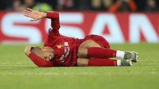 Liverpool manager Jurgen Klopp faces an anxious wait to discover the extent of the injury suffered by his key midfielder Fabinho (pictured). Photo: Carl Recine/Retuers