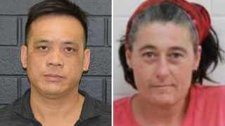 A supplied undated combined image shows Phu Tran and Claire Hockridge who have been missing in a remote area south of Alice Springs. Picture: AAP Image/Supplied