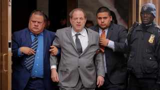 Film producer Harvey Weinstein exits following a hearing in his sexual assault case at New York State Supreme Court in New York. File picture: Lucas Jackson/Reuters