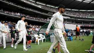 NZ captain Kane Williamson missed training for the second successive day. Photo: AP Photo/Andy Brownbill