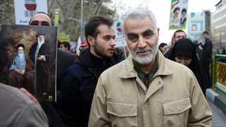 Qassem Soleimani, commander of Iran's Quds Force, attends an annual rally commemorating the anniversary of the 1979 Islamic revolution in Tehran in 2016. File picture: Ebrahim Noroozi/AP