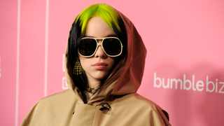 Billie Eilish arrives at Billboard's Women in Music at the Hollywood Palladium on Thursday, Dec. 12, 2019, in Los Angeles. Picture: AP