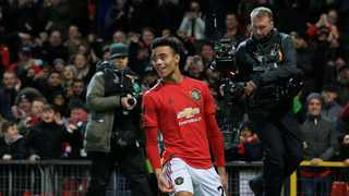 Teenager Mason Greenwood (pictured) can lead Manchester United's attack at Premier League leaders Liverpool this weekend in the absence of Marcus Rashford. Photo: Jon Super/Reuters