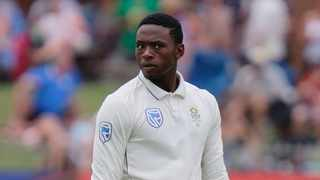 Former England players condemned the suspension of South Africa pace bowler Kagiso Rabada on Friday after an over exuberant celebration, but he received little sympathy from his own camp. Photo: Michael Sheehan/AP Photo