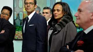 Isabel dos Santos and her husband Sindika Dokolo File picture: Paulo Duarte/AP