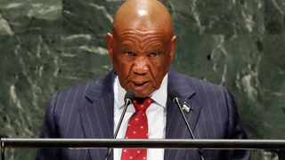Lesotho's Prime Minister Thomas Motsoahae Thabane took to the radio to announce that he would step down at the end of July. Picture: Richard Drew/AP/African News Agency (ANA)