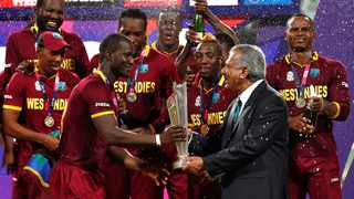 The West Indies beat England in the final of the 2016 World Twenty20 tournament in India. Picture: Reuters