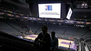 The lottery to determine which NBA team will get the number one overall draft pick along with the draft combine have both been postponed due to the coronavirus outbreak, the league said on Friday. Photo: AP Photo/Rich Pedroncelli