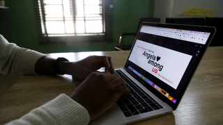"Tech startup founder Ebun Okubanjo and his team used their expertise to create a crowdfunding site, ""We Are Together"".  Photo: REUTERS/Temilade Adelaja"