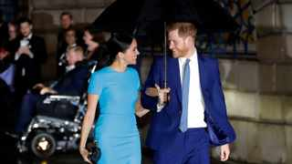 Prince Harry and Duchess Meghan are living in Tyler Perry's $18-million Los Angeles home. Picture: AP