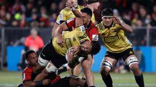 """New Zealand's Super Rugby players will begin what coaches have deemed to be a """"second pre-season"""" on Monday as they return to training following a relaxation of health and travel restrictions imposed after the novel coronavirus pandemic. Photo: AP Photo/Mark Baker"""