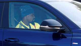 Tottenham Hotspur defender Serge Aurier arrives at training. Picture: Reuters
