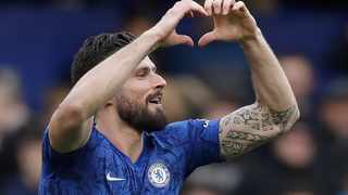 FILE - Chelsea's Olivier Giroud has signed a one-year contract extension. Photo: Matt Dunham/AP