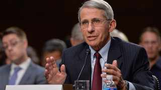 Anthony Fauci, the United States' leading infectious disease adviser. Picture: XINHUA News Agency