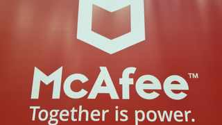 McAfee told Reuters on Thursday it has hired Peter Leav as its new Chief Executive,  Photo: File