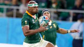 The upset over a perceived act of racism towards Makazole Mapimpi is instructive for the Springbok team and South Africa as a whole. Picture: Shuji Kajiyama/AP